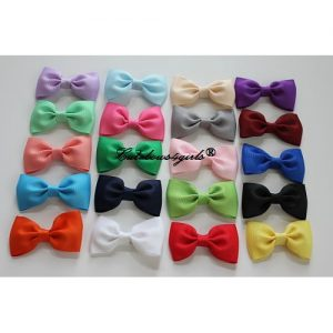 non-slip tie hair bows